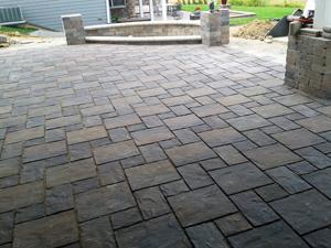 Brick Patio Installation | Southeast Wisconsin Landscaper | MJDs LLC.