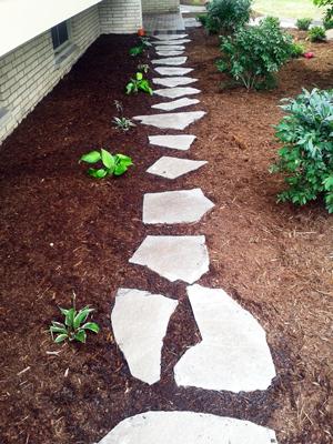 Stone Path Installation | Southeast Wisconsin Landscaper | MJDs LLC.